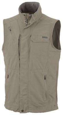 Columbia Men's Silver Ridge Vest, Fossil, X-Small