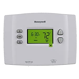 honeywell rth2510b1000 a 7 day programmable thermostat. Black Bedroom Furniture Sets. Home Design Ideas