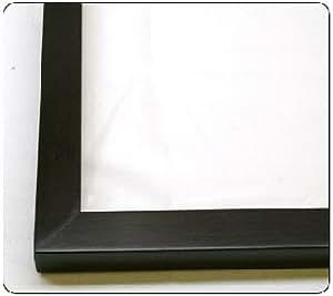 30x40 30 x 40 walnut flat solid wood frame with uv framer 39 s acrylic foam board. Black Bedroom Furniture Sets. Home Design Ideas