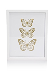 Butterfly Print Wall Art