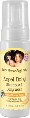 Angel Baby Shampoo and Body Wash by Earth Mama Angel Baby - 5.3oz.