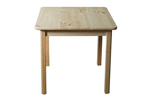 Tisch kiefer massiv vollholz natur 002 abmessung 75 x for Tisch vollholz design