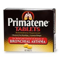 Primatene Tablets for Bronchial Asthma- 60 Tablets