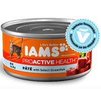 Iams Proactive Health Adult Pate With Select Oceanfish Canned Cat Food