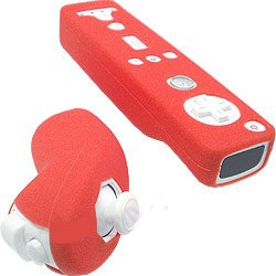 Silicone Skin Cover for Nintendo Wii Remote and Nunchuk WII case WII accessories (3 Styles, 25 color to choose)