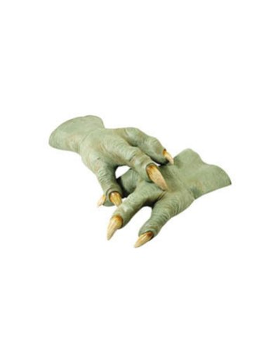 Yoda Hands Adult Sz Halloween Costume - Most Adults