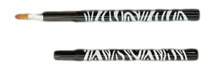 伝統工芸品 熊野筆メイクブラシ リップブラシ 精選イタチ毛100% ゼブラシリーズ