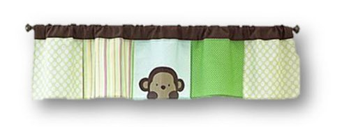 "Carter's ""Peek-a-boo Jungle Collection"" Nursery Valance - 1"