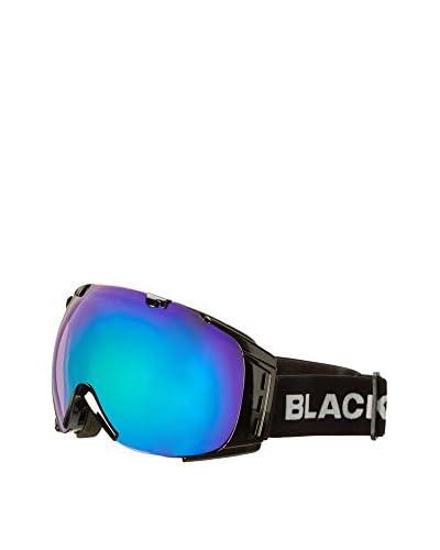 Black Crevice Máscara de Esquí Negro / Verde