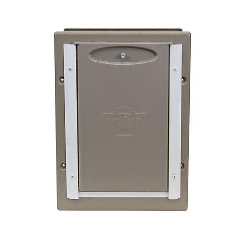 PetSafe Wall Entry Aluminum PetDoor Medium Up To 40 Lb PPA11 10916 Hardwa