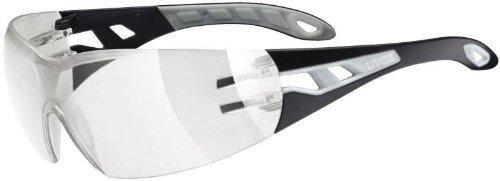 UVEX Erwachsene Sonnenbrille Sportstyle 201, Black Grey, S, 5306072518