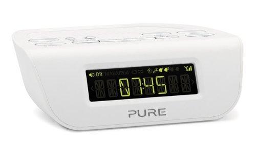 Pure VL-61777 Siesta Mi Serie II Radiowecker (DAB/DAB+/UKW-Tuner) weiß