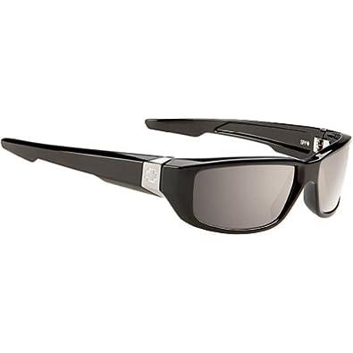 Buy Spy Happy Dirty Mo Sunglasses - Spy Optic Steady Series Polarized Designer Eyewear - Black Bronze... by Spy