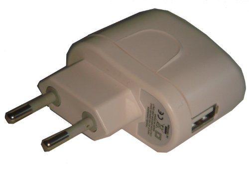 NETZTEIL LADEKABEL LADEGER&#196;T USB BUCHSE ADAPTER LADEADAPTER 220V wei&#223; f&#252;r APPLE IPOD