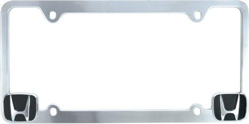 Bully WL051-C Honda License Plate Frame - Chrome (Honda License Plates compare prices)