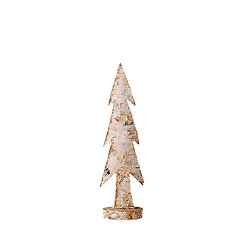 Bloomingville Weihnachtsbaum aus Holz, natur (32cm)