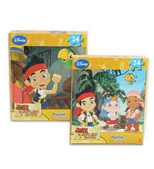 Jake & The Neverland Puzzle 24 Ct [3 Retail Unit(s) Pack] - 63557