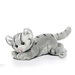 Nat and Jules Plush Toy, Grey Tabby Cat, Large