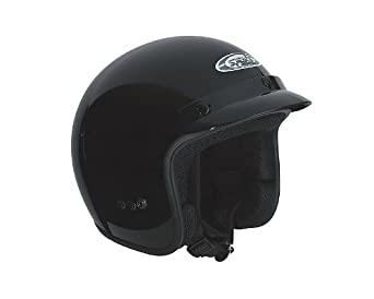 Casque Speeds Jet Classic noir brillant taille L