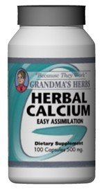 Herbal Calcium - 100 Capsules