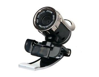1.3mega Pixels Hd Webcam With Microphone (black)