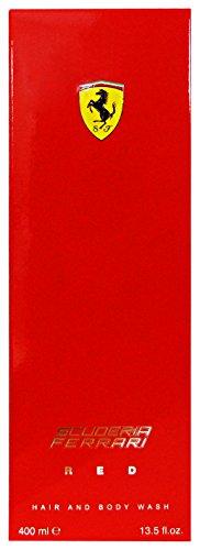 Set 6 FERRARI Bagno RED 400 Ml. Saponi e cosmetici