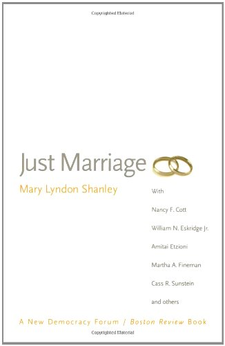 Just Marriage (New Democracy Forum)
