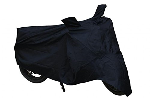 Leebo _11 Leebo Premium Quality Royal Enfield Bullet 350 Waterproof Coating Bike Body Cover With Mirror Pockets. 3500Ml(Black)
