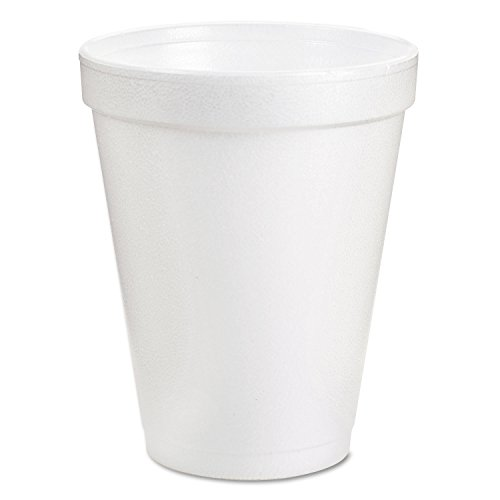 Dart Foam Cup 8 Oz 1000 Per Case Drt8J8 Hot Or Cold