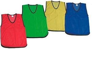 Cintz Set of 10 Green Men Scrimmage vest by Cintz LLC