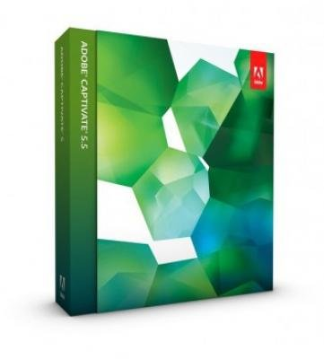 Adobe Captivate - ( v. 5.5 ) - complete package - 1 user - DVD - Win - Englis...