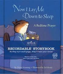 "Hallmark Recordable Storybook, ""Now I Lay Me Down to Sleep"""