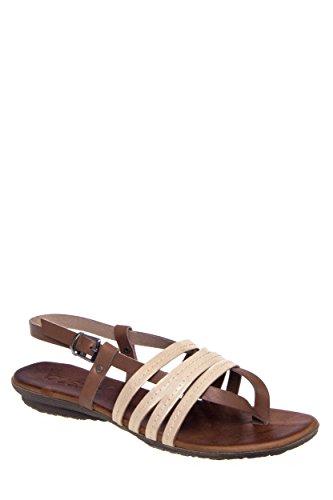 Multi-Strap Casual Flat Sandal