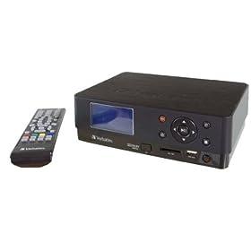 Verbatim 47543 Unità di Registrazione Multimediale Wireless di Rete HD DVR MediaStation 500 GB