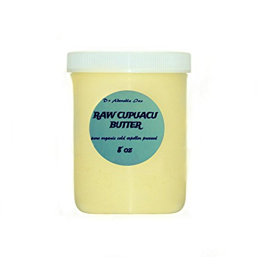 8 Oz Pure & Organic Exotic Cupuacu Butter Unrefined Cold Pressed (Chocolate Massage Oil Gallon compare prices)