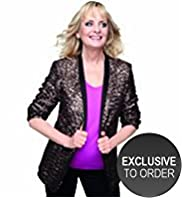Twiggy for M&S Woman Open Front Longline Sequin Blazer