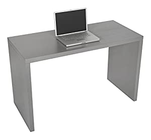 Levv Computer Desk - Grey: Amazon.co.uk: Kitchen & Home