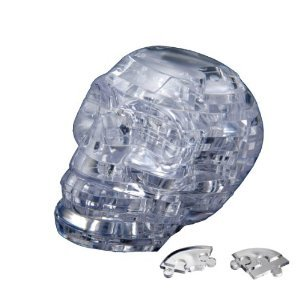 Picture of Beverly Enterprises CRYSTAL PUZZLE Skull 50127 (B0049W57E4) (Pegged Puzzles)