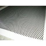 アルミ製メッシュネット1M×33cm黒/グリル加工/エアロ/網