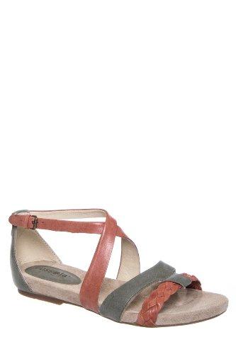 Bussola Kalmar 1479 Flat Ankle Strap Sandal