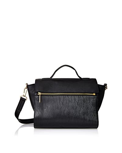 French Connection Women's Celestial Satchel, Black
