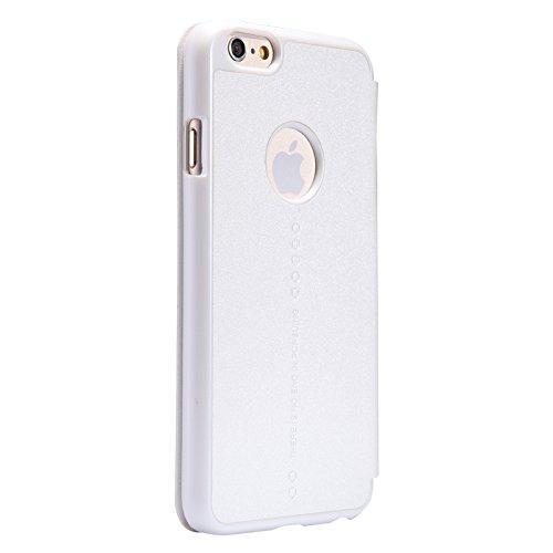 【TopAce】Apple IPhone 6s 専用ケース 手帳型カバー 軽量 高品質 超薄型 超耐磨 最軽量 スマートフォンケース (ホワイト)