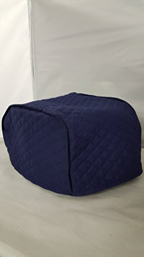 Navy 2 Slice Toaster Cover - (11x6.5x7.5