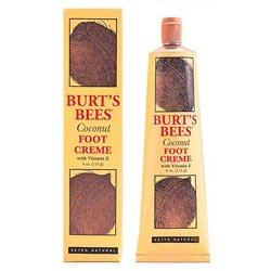 Burt's Bees Foot Creme, Coconut, 4.34 Ounce