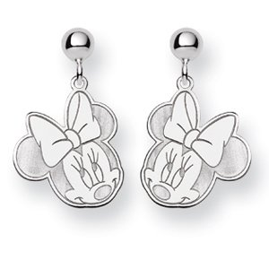 Minnie Dangle Post Earrings - Sterling Silver