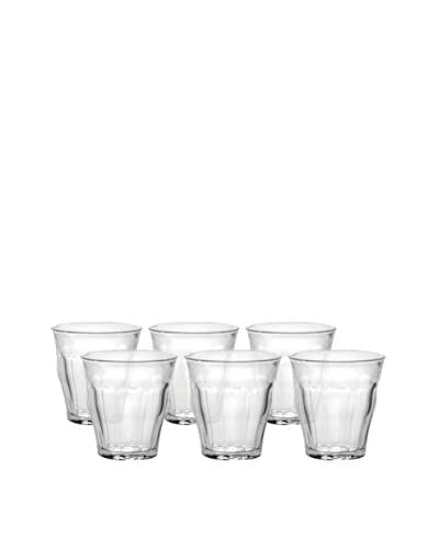 Duralex Set Of 6 Picardie 3.25-Oz. Tumblers, Clear