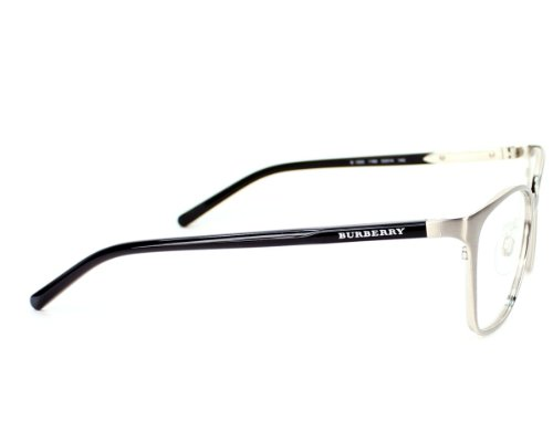 Burberry  Burberry Women's Frame Be 1255 1166 Metal - Acetate Plastic Brushed Silver