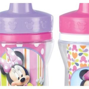 The First Years Minnie Mickey Mouse Insulated Sippy Cup
