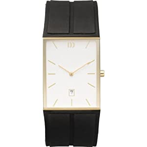 Danish Designs Men's IQ11Q735 Stainless Steel Gold Ion Plated Watch