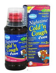 NIGHTTIME COLD N'COUGH 4 KIDS (4oz) 118ml